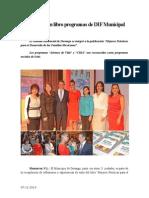 07.12.2014 Reconocen en Libro Programas de DIF Municipal