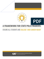A Framework for State Policymakers
