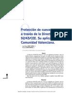 Proteccion Cuevas Directiva