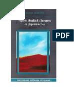 Espacio Identidad y Literatura en Hispanoamerica