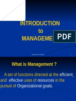 Principles of Management- Lecture 1