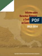 Informe DH y Conflictividad C.a. 2013-2014
