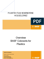 Colorants for Plastics BASF