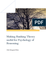 Making Ranking Theory Useful for Psychology of Reasoning, NSO