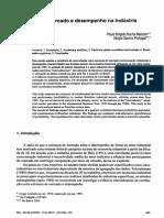 Estrutura de mercado e desempenho na indústria brasileira