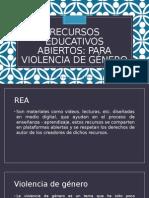Recursos Educativos Abiertos para sensibilizar en violencia de género