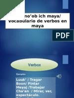 Ver Verbos en maya