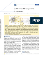A Web of Possibilities-Network-Based Discovery of Protein