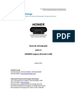 HOMERGettingStartedGuide Portuguese
