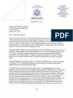 Letter to DiNapoli