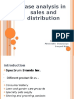 Case Analysis in Sales and Distribution