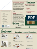 Timbron International Interior Moulding Trifold