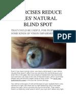Exercises Reduce Eyes