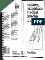 Indicadores Psicopatologicos en Tecnicas Proyectivas001