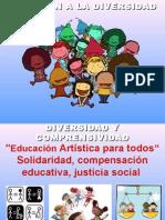 Presentación de Carmen Aragú. Diversidad.