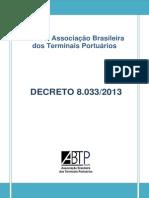 DECRETO 8033 Lei Dos Portos