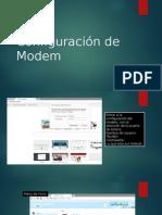 Configuración de Modem