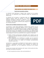 Normas de Seguridad - Sistema Eléctrico y Pararrayos