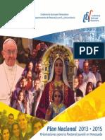 Plan Nacional Pastoral Juvenil 2013-2015