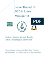 Installation Manual of ABCD in Linux V1.2