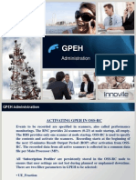 Ericsson GPEH Administration