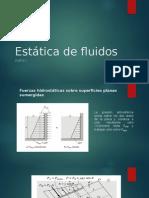 Estatica de Fluidos Parte I