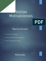 Aula - Motivação