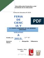 Proyecto Fencyt 2015 1ro C