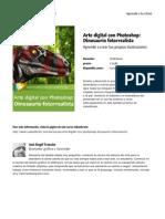 Arte Digital Con Photoshop Dinosaurio Fotorrealista