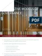 13. Alternative Models of Governance - Quick Guide Series
