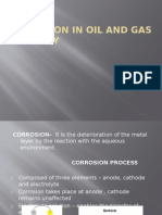Corrosion in Oil and Gas Industry Ppt