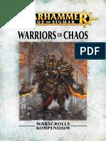 Warhammer Aos Warriors of Chaos De