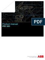 PRODUCT MANUAL IRB580