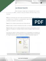 Instalación Del Sistema VSControl Total 2012(Web)