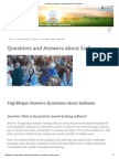 Questions and Answers About Sadhana _ 3HO Foundation