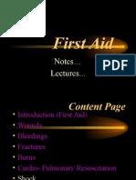 First AID Medicine