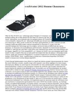 Acheter Nike Roshe exécuter 2012 Homme Chaussures GG1