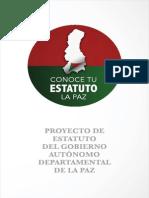 Estatuto del Gobierno Autónomo Departamental La Paz