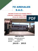 01. Informe Técnico de Usuario Grifo Arenales 10set2013