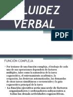 CLASE de Neuropsicologia y Fluidez Verbal