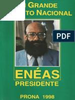Um Grande Projeto Nacional (1998) - Enéas Carneiro - Alta resolução