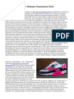 Acheter Air Jordan 1 Homme Chaussures GI3\r