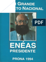 Um Grande Projeto Nacional (1994) - Enéas Carneiro - Alta resolução