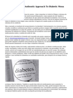 Diabetes Foods  An Authentic Approach To Diabetic Menu Planning