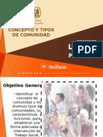 Concepto y Tipos de Comunidad s.p. Iest