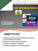 Normas de Bioseguridad Clase San Martin2013-II