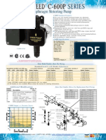 Chem Feed - C-600-p - Datos Tecnico