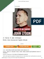 A Raiva é Uma PDF Energia - John Lydon