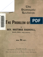The Problem of Evil ([1912])