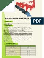 146 Semi-Automatic Moaldboard Plough